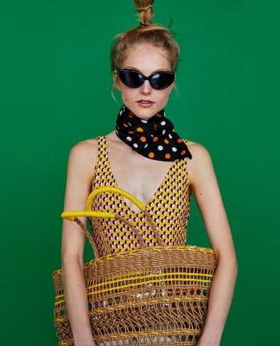 pañuelo al cuello Zara Oh Simple Thing Blog
