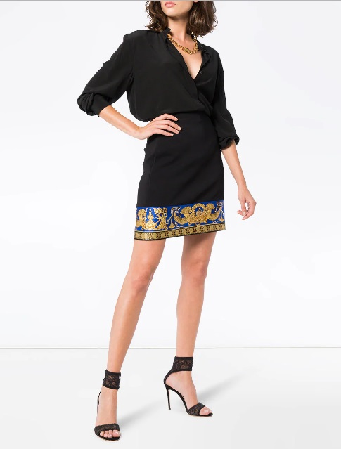 falda versace