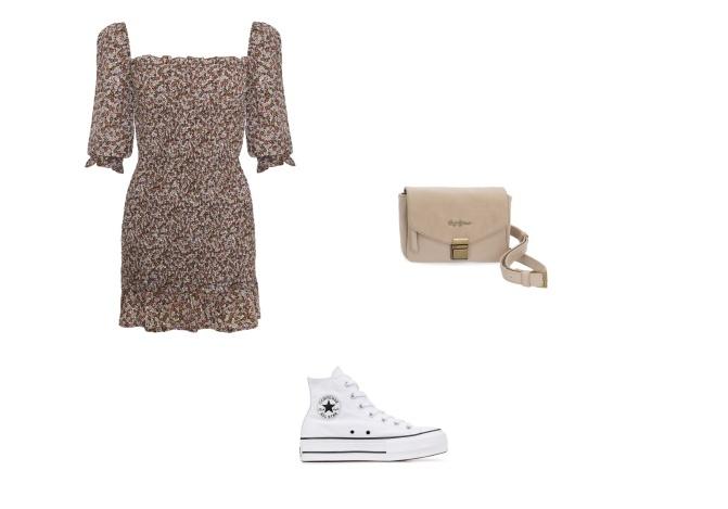 Look vestido Converse
