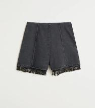 shorts flecos Leandra medine mango