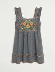 vestido Leandra medine mango