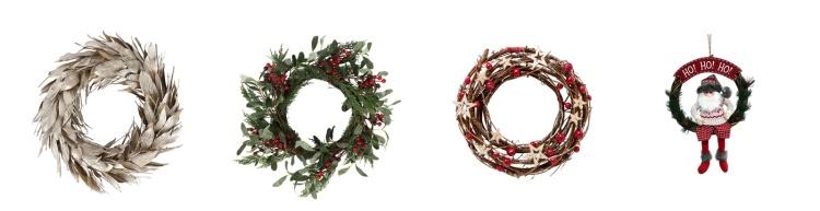 christmas wreaths coronas navidad