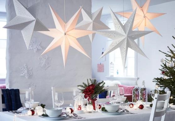 luces estrellas navidad