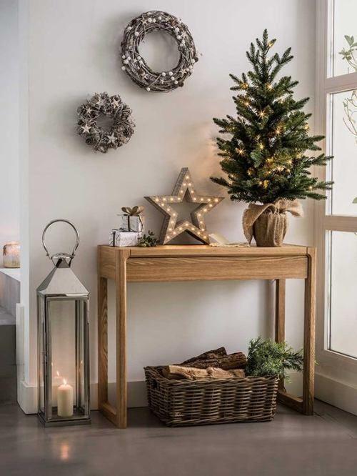 navidad minimalista/minimalist christmas deco