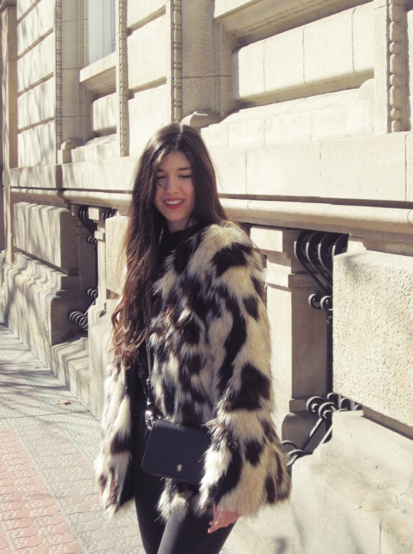 look abrigo pelo invierno