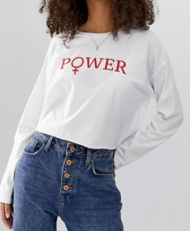 camiseta power asos