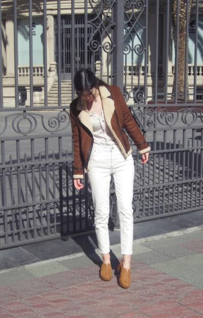 Look chaqueta aviador/Aviator jacket